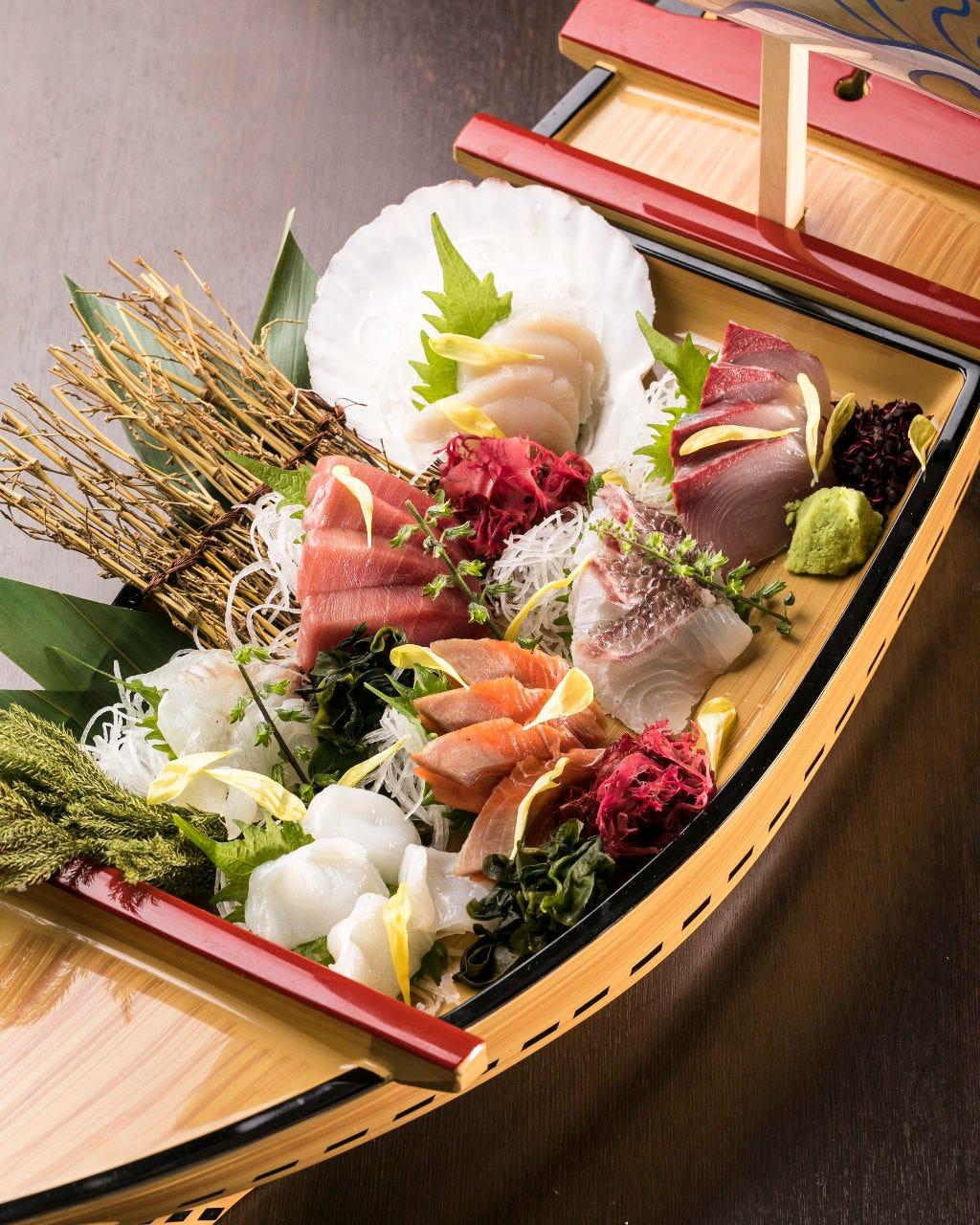 鱼と日本酒 笑う门には福来る 锦糸町