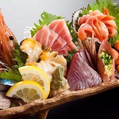 鮮度抜群の鮮魚を堪能