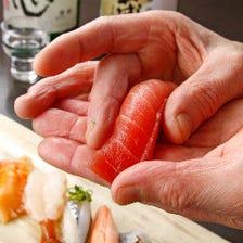 職人と鮮魚が織り成す至福のひと時