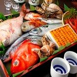 妥協なき目利きからの旨い魚の味を追求!