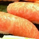 にぎり寿司各種(400円税抜)