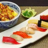 寿司・天丼