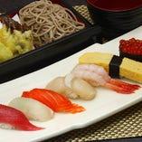 寿司・そばセット
