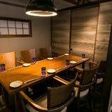 【2階完全個室/6名様×3卓】風情あふれる隠れ家空間。接待・会食からご宴会まで