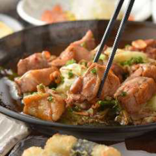鶏ももの辛味噌 とろ~りチーズ焼き
