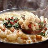 【特製もつ鍋】 今年の鍋は国産牛・特製味噌もつ鍋で決まり!
