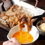 【牛バラ鉄板焼き】 すでに大人気!ご飯やお酒のお共に最適!