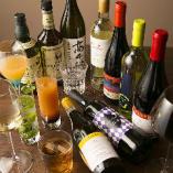 ご宴会は飲み放題付で。ビュッフェスタイルでのご提供も承ります