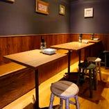 3名様~団体でもOK!宴会、飲み会にオススメ!2階テーブル席