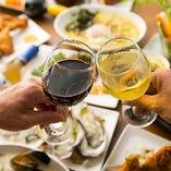 貝メニューとワインを楽しめるバルです!