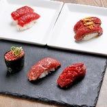 【肉寿司】 新鮮なお肉を堪能◎口の中でとろける味わいが魅力