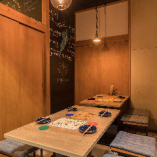テーブル席 完全個室(~8名様)18日より完全個室に!
