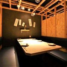 和の雰囲気に包まれた宴会個室
