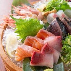 海鮮権八盛り 5種