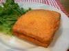 モッツァレラチーズとアンチョビのはさみ揚げ