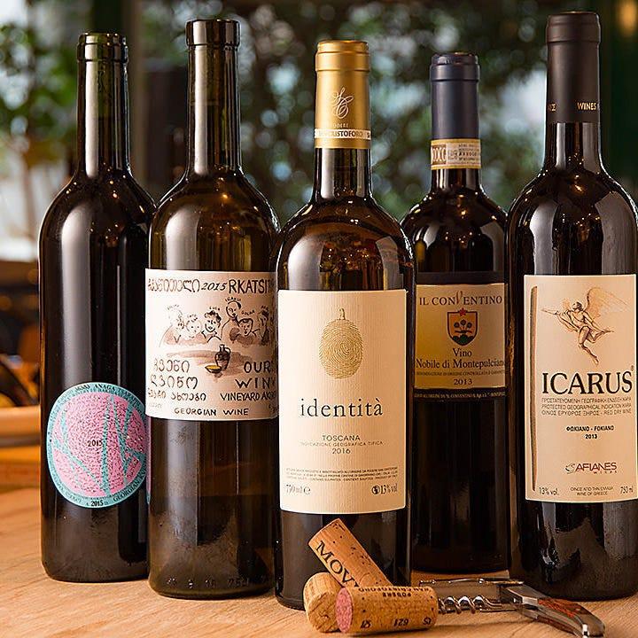 野菜料理によく合う自然派ワイン