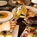 普段遣いから記念日、接待や顔合わせなどの会食まで 幅広いシーンにぴったりです!