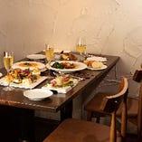 web予約、平日限定!お野菜ディナー3,600円(税抜)※要予約、店舗メニューにはありません。