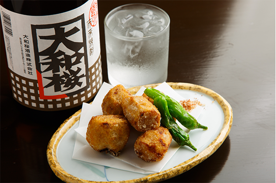 リピート率No. 1『里芋の唐揚げ』