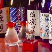 日本酒通の店長が仕入れる銘酒の数々