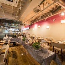 渋谷のお洒落オーガニックレストラン