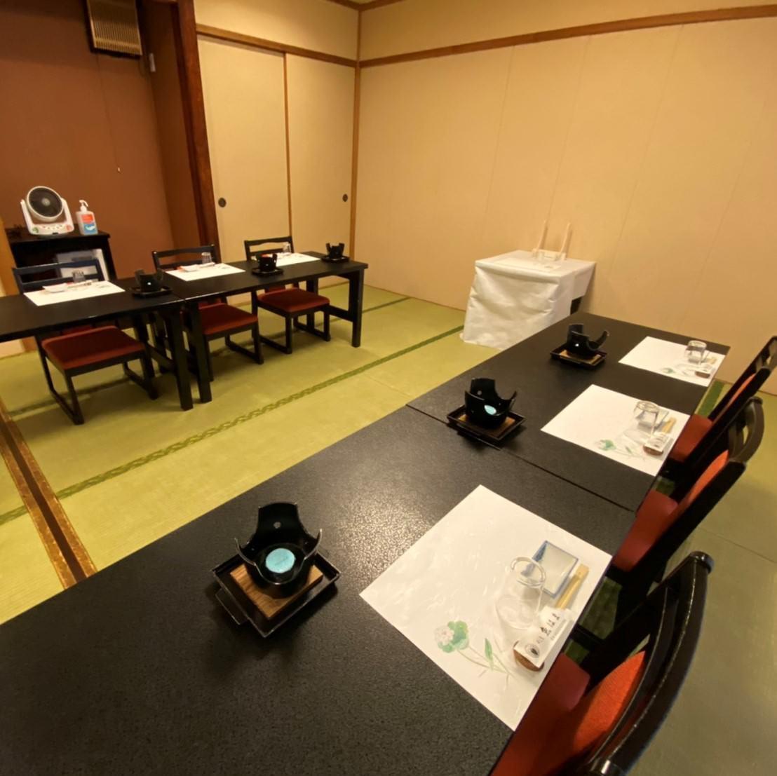 衛生管理対策万全な個室