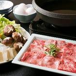 【小鍋料理】 和牛すき焼きコースから寄せ鍋、鴨すき鍋など...