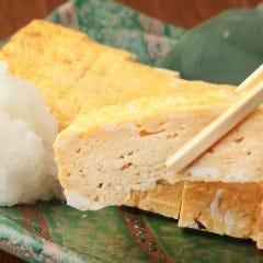 横須賀地卵のだし巻き