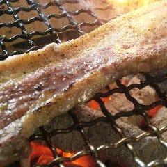 神奈川夢ポーク 厚切り豚バラ肉の炭火焼
