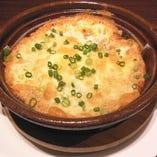 とろろと季節野菜のチーズグラタン
