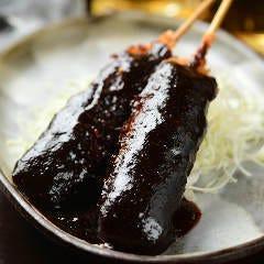 奥三河鶏の味噌串カツ