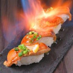 三大珍味のフォアグラ寿司が食べ放題