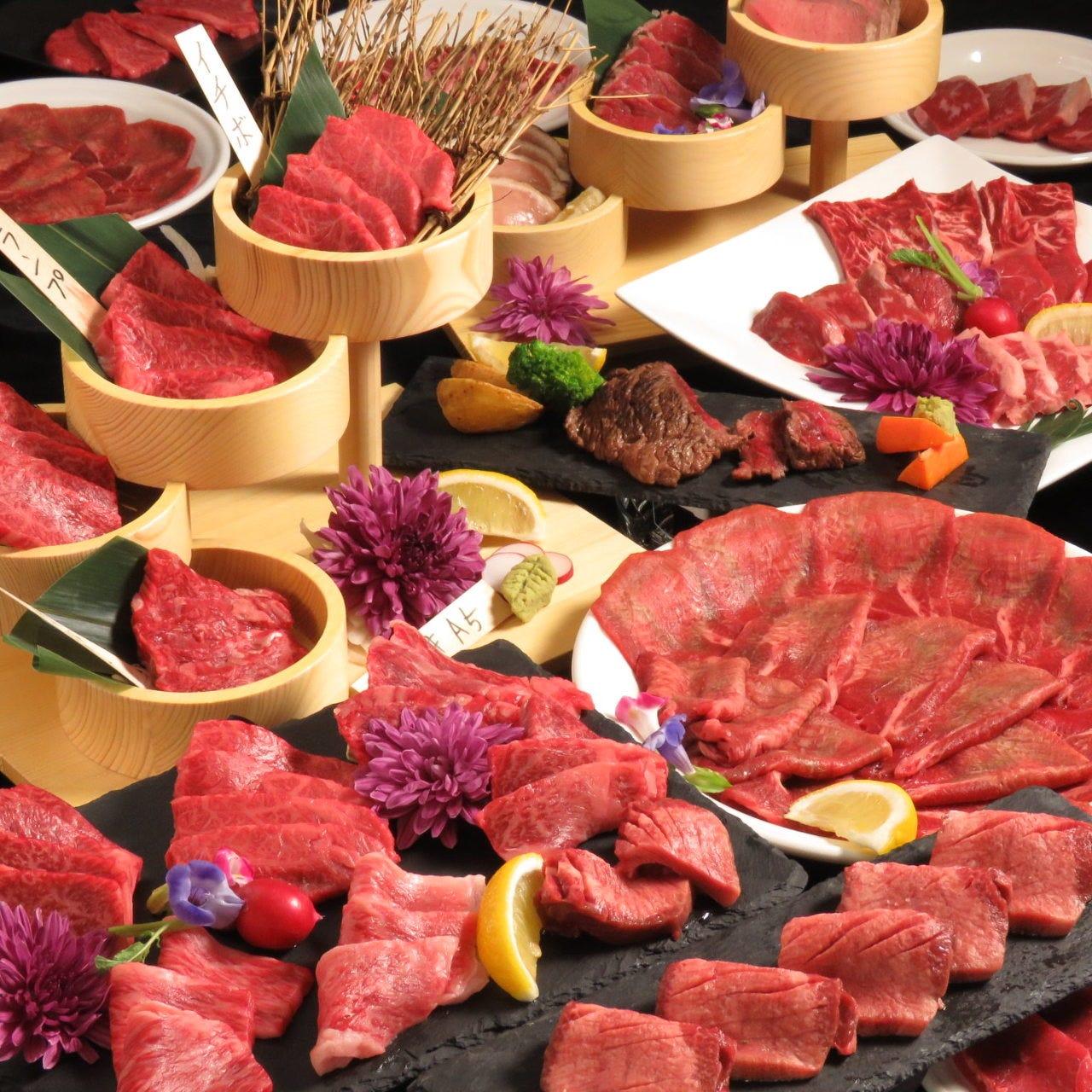 仙台牛♪特選和牛が食べ放題◆