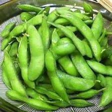 たっぷり熱々!黒豆の枝豆