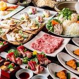 [和の宴会] お料理重視の宴会を♪旬の山海の美味が味わえる!