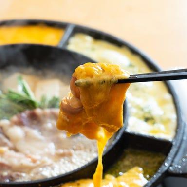 ラクレットチーズ×個室肉バル 札幌肉の会 札幌駅前店 こだわりの画像