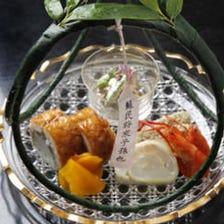 京の味わいを月代わりの懐石で提供
