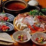 【150分飲み放題付】海鮮屋の寄せ鍋コース 5000円(税込)