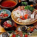 【150分飲み放題付】豪華海鮮鍋コース 6000円(税込)