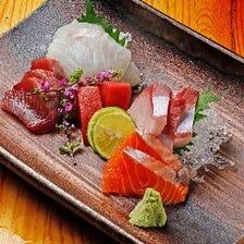 毎日仕入れる新鮮な鮮魚!