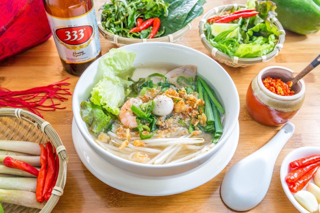 熟練のベトナム人シェフが作る逸品
