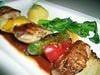 シャシリク(ラム肉の串焼き)セット