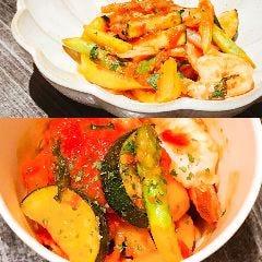 色々野菜のエビトマト