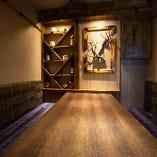 淡い間接照明が照らす個室空間は、品川での様々なシーンに◎!!