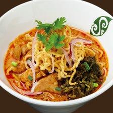 甘辛2層のカレースープ麺