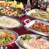 週ごとに和食・洋食・中華と変わる『ホリデーバイキング』はお得
