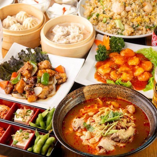 中華も和食も!豊富な一品料理