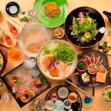 厳選料理が彩る豪華ご宴会プラン