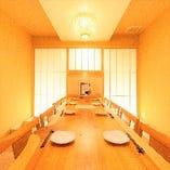 接待や誕生日や記念日のご利用におすすめの綺麗な個室が豊富☆