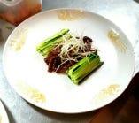 牛肉の味噌炒め クレープ包み
